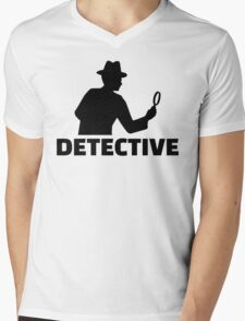 Detective Mens V-Neck T-Shirt