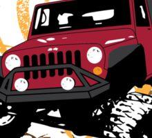 Jeep Yoga T-Shirt Sticker