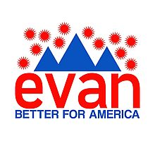 Evan McMullin -  Better for America! Photographic Print