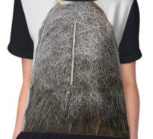 Frosty haystack Chiffon Top