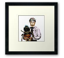 Rick Moranis - 1980's comedy superstar Framed Print