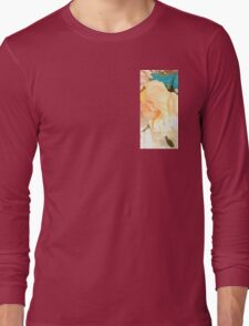 Vintage Barbie with Flowers Long Sleeve T-Shirt