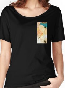 Vintage Barbie with Flowers Women's Relaxed Fit T-Shirt