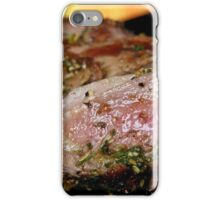 Cooked meat iPhone Case/Skin
