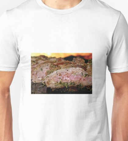 Cooked meat Unisex T-Shirt