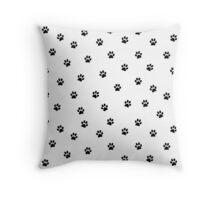 Paws invasion Throw Pillow