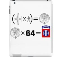 The Solution: 82nd iPad Case/Skin