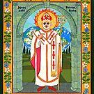 Icon of Pope John XXIII by David Raber