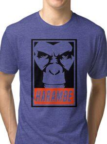 harambe Tri-blend T-Shirt
