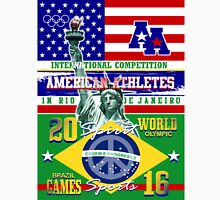 america rio Womens Fitted T-Shirt