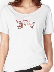 Bon Iver - Spilled Liquor Logo Women's Relaxed Fit T-Shirt