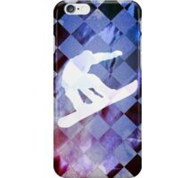 Snowboarder iPhone Case/Skin