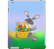 Easter Bunny with Egg Basket iPad Case/Skin