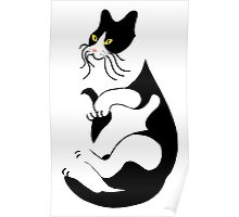 Horace the cat Poster
