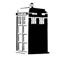 The Tardis, Police Box (Doctor Who) Photographic Print
