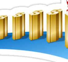 Business Success Chart 1 Sticker