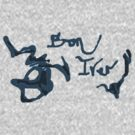 Bon Iver - Blue Screen Denim Logo by Repave Repave