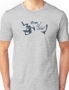 Bon Iver - Blue Screen Denim Logo T-Shirt