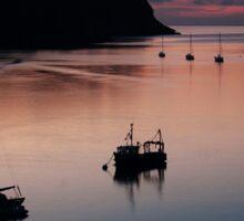 Dartmouth Estuary at Sunrise Sticker