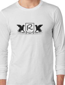 Heraldic Pegasus Monogram R Logo Long Sleeve T-Shirt