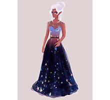 Space Princess Photographic Print