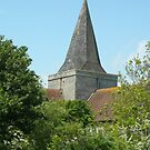 Church in Alfriston_South Downs_UK by Kay Cunningham
