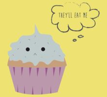 Sad cupcake Kids Tee