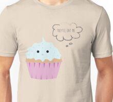 Sad cupcake Unisex T-Shirt