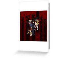 Cowboy Bebop Greeting Card