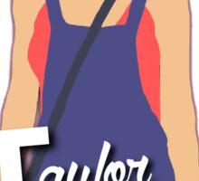 Taylor Swift cartoon edit Sticker