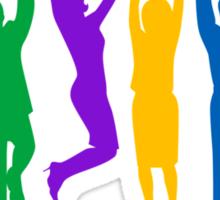 Business Success Colorful Sticker