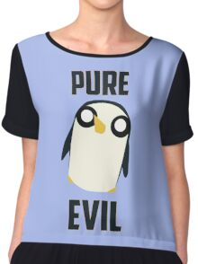 Evil is cute Chiffon Top