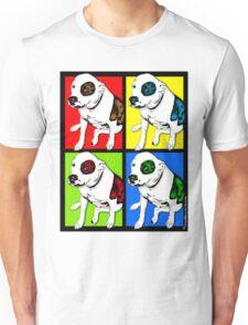 Colorful Pop Art Pit Bull Unisex T-Shirt