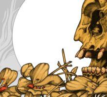 Death Head Skull Sticker
