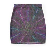 Magnetic Humano Light Speed Mash Up.  Mini Skirt