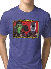 Pod Stallions Logo Tri-blend T-Shirt