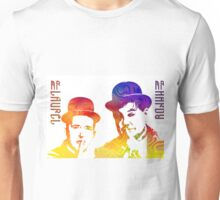 Technicolor Laurel and Hardy Unisex T-Shirt