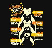The Coolest Bears on Earth - Black Unisex T-Shirt