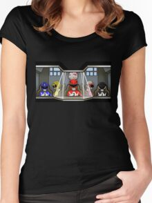 Inside A Giant Robot Women's Fitted Scoop T-Shirt