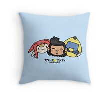 Space Dandy & Friends Throw Pillow