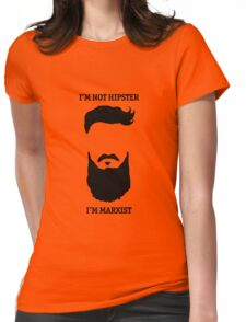 HIPSTER OR MARXIST? MARXSTER Womens Fitted T-Shirt