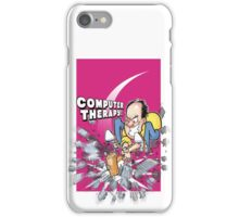 Smashing computers is great therapy! iPhone Case/Skin