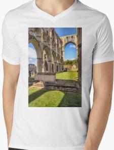 Abbey Mens V-Neck T-Shirt