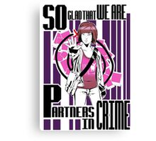 Partners in crime - Max Caulfield Canvas Print