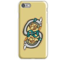 Celtic Rabbit Letter S - New Edition iPhone Case/Skin