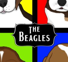 Meet The Beagles! Sticker