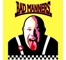 Bad Manners Photographic Print