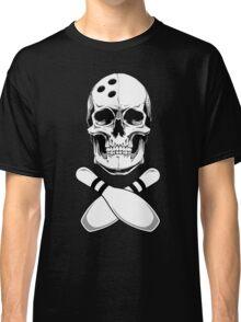 Bowling - Skull & Crossbones Classic T-Shirt