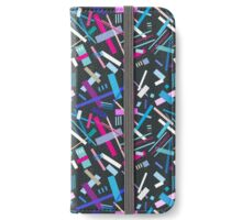 Colorful cool geometric pattern  iPhone Wallet/Case/Skin