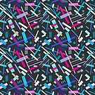 Colorful cool geometric pattern  by Tanor